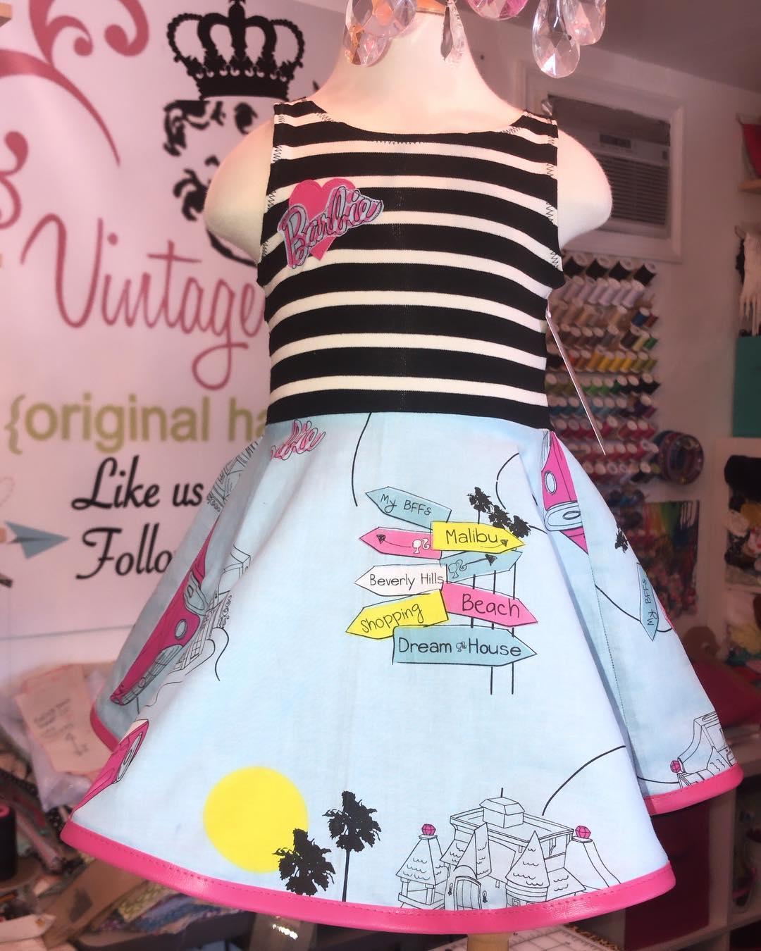 classic Barbie dress