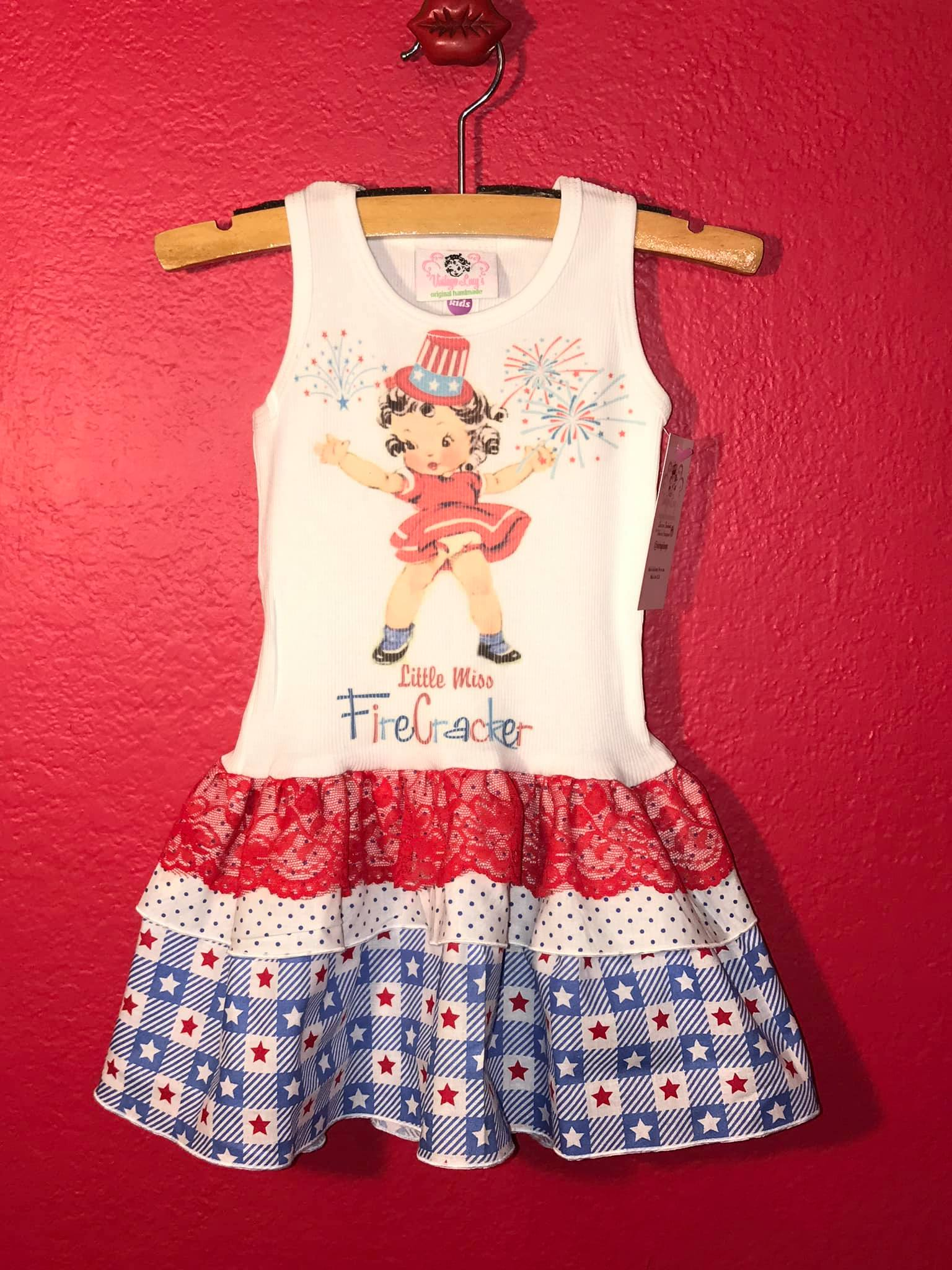 Fourth of July original tank dress!